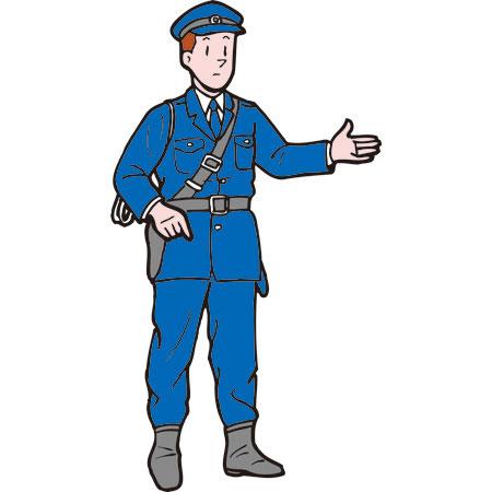 警察官 art(フリーアート) 警察官 Freeart(フリーアート) 浮世絵&ensp
